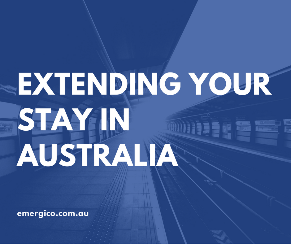 Extending your stay in Australia