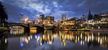 Melbourne's on the up & up!